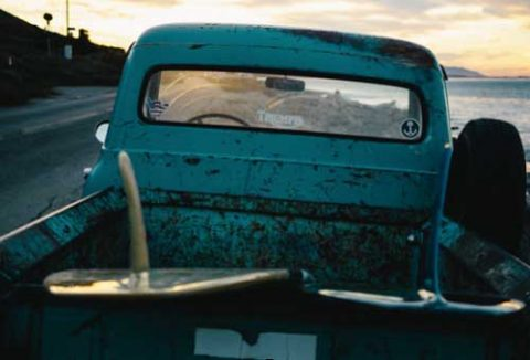 old pickup truck