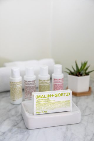 malin & goetz bath amenities