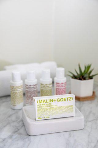 malin & goetz bath amenities